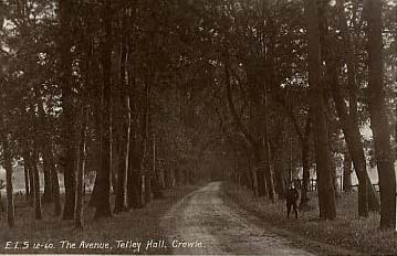The Avenue to Tetley Hall