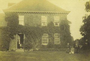 Photograph of a family at the Rectory