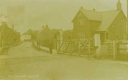 Haxey level crossing